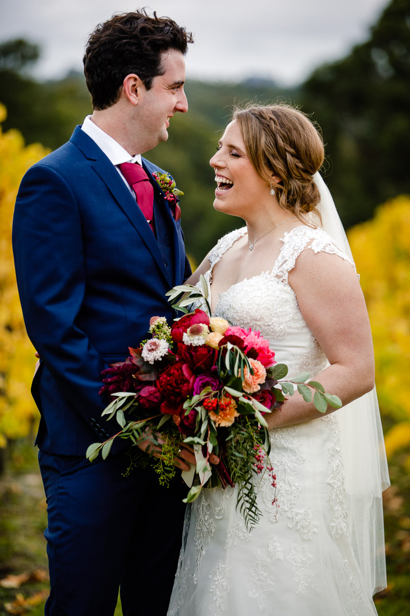 kind words from the bride and groom after their wedding day