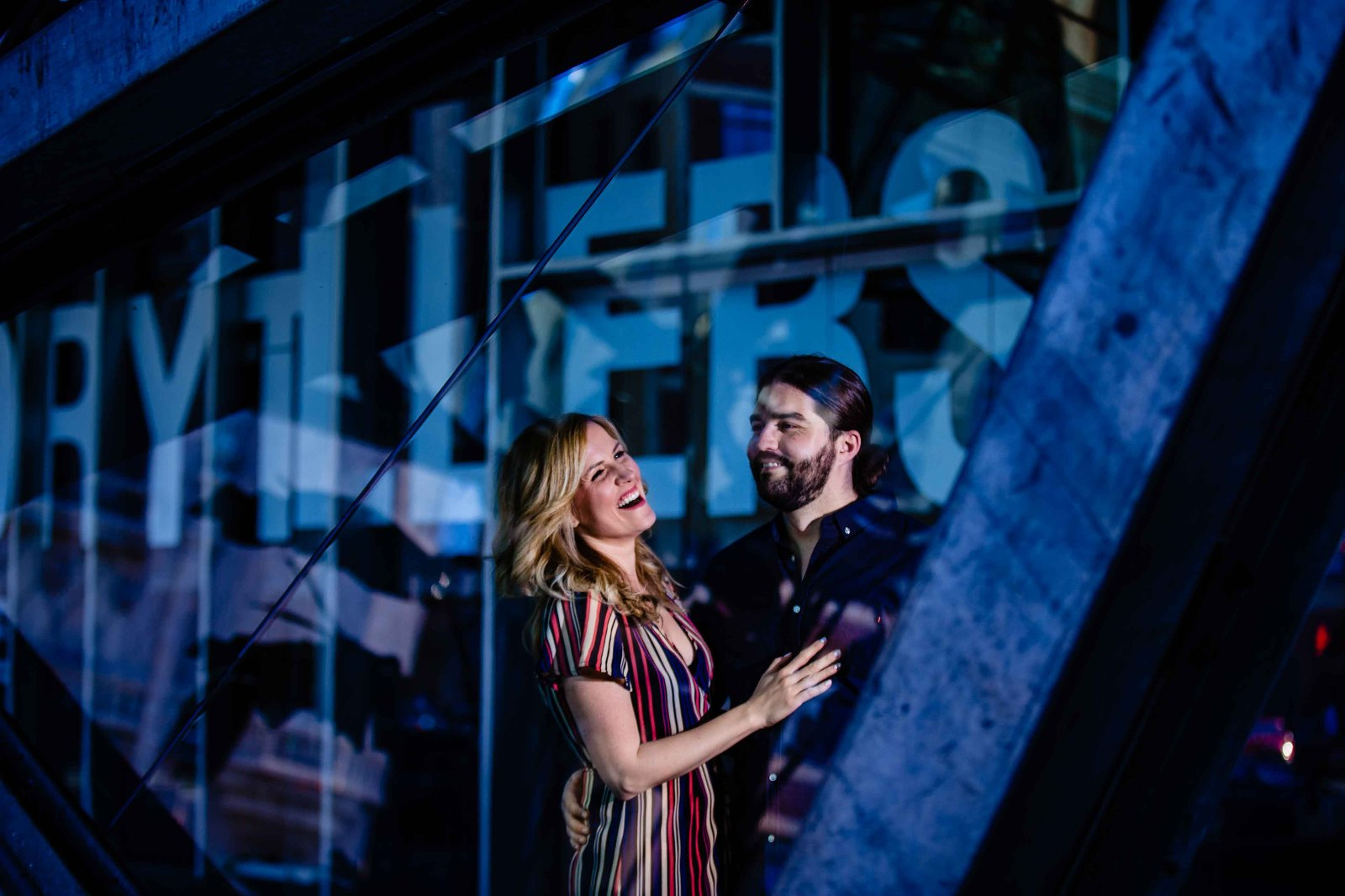Federation Square Engagement photography